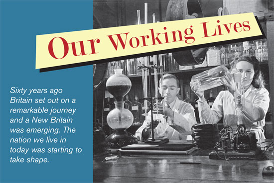 Our Working Lives book front cover image