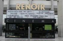 outside Renoir cinema